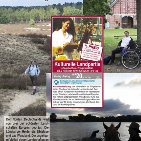 Elbtalaue Wendland Lüneburger Heide